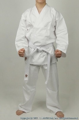 Top Quality BUTOKU LIGHT Weight Karate Uniform Set (WHITE)