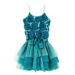 Tutu Du Monde Emerald Tutu Dress in Emerald