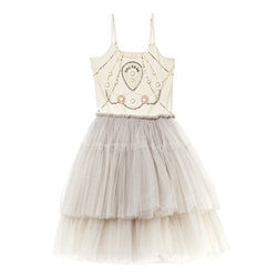 Tutu Du Monde Silver Angel Tutu Dress in Champagne