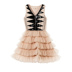 Tutu Du Monde Dancing Queen Tutu Dress in Latte