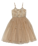 Tutu Du Monde Magnolia Dress in Gingerbread