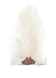 Tutu Du Monde Dove Headband in Milk