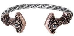 Alchemy Thunder Torque Bangle