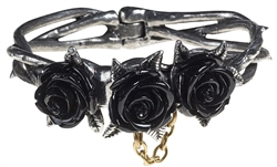 Alchemy Wild Black Rose Bangle