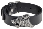 Alchemy Dark Wolf Leather Wriststrap