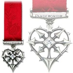 I.C.H. Infernal Chaos Heart Medal