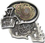 Rosenstein's Galvanic Matter Transpositor Belt Buckle