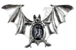 Alchemy Drakvlya Gem Bat Brooch