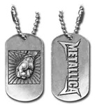 Metallica St. Anger Dog Tag