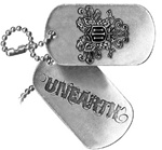Unearth Dog Tag