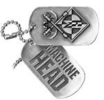 Machine Head Dog Tag