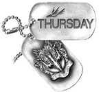 Thursday Dog Tag