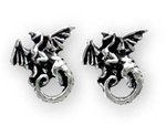 Alchemy Whitby Wyrm studs (pair)