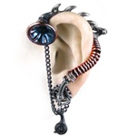 His Master's Voice Ear-Trumpet Stud
