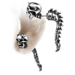 Alchemy Wraith Spine Faux Stretcher Earring