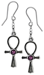 Alchemy Ankh Of Osiris Earrings