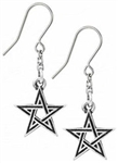 Alchemy Black Star Earrings