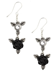 Ring 'O Roses Drop Earrings