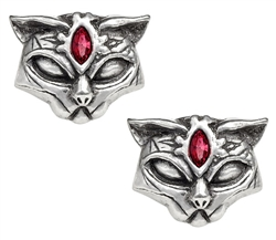 Alchemy Sacred Cat Ear studs
