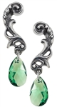 Alchemy Night Queen drop earrings