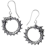 Alchemy Jormungand Drop Earrings