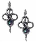 Alchemy Tercia Serpent Earrings