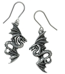 Alchemy Flight of Airus Drop Earrings