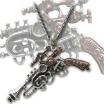 Alchemy 'The Duellist' Gun pendant