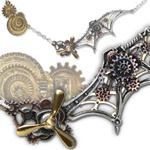 Alchemy Daedalus Penna Scientia Necklace