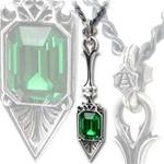 Alchemy Sucre Vert Absinthe Spoon necklace
