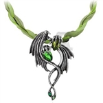Alchemy Emerald Dragon Choker
