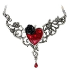 Alchemy The Blood Rose Heart Pendant