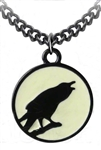 Caw At The Moon Pendant