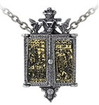 Alchemy Balkan Triptych Icon Locket