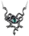Alchemy Gorgon's Eye Necklace