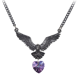 Alchemy Hamingja Raven Necklace