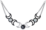 Alchemy Tres Lunae Necklace