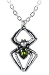 Alchemy Emerald Spiderling Pendant
