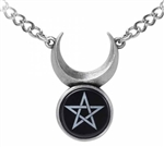 Alchemy Sin-Horned God Pendant