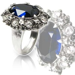 Alchemy A Dark Engagement Ring