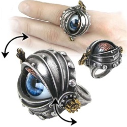 Alchemy Automaton's Eye Ring