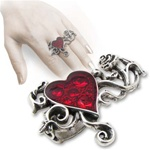 Alchemy Bed Of Blood Roses Ring