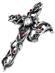 Alchemy Thorny Cross Handspan Ring