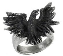 Alchemy Flocking Raven Ring