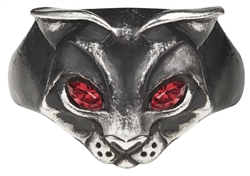Alchemy Bastet Goddess Ring