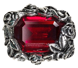 Alchemy Blood Rose Ring