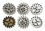 Alchemy Gearwheel Buttons - large
