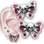 Bow Belle ear studs