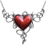 Alchemy Devil Heart Genereux Necklace