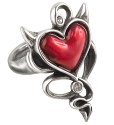 Alchemy UL17 Devil Heart Ring